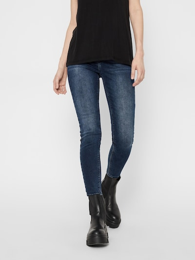PIECES Jeans 'Delly' in Dark blue, View model