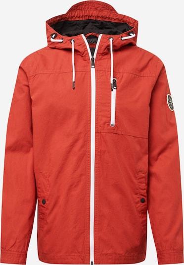 Only & Sons Prechodná bunda 'Asbjorn' - hrdzavo červená / biela, Produkt