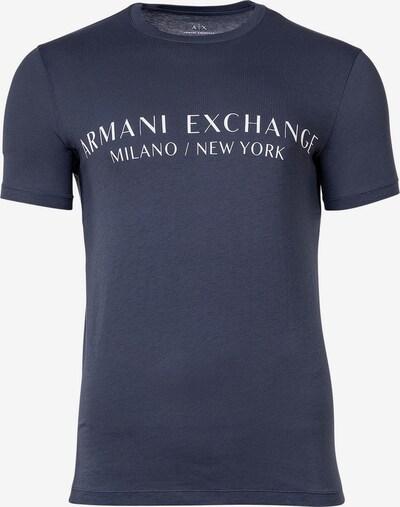 ARMANI EXCHANGE Shirt in de kleur Marine / Wit, Productweergave