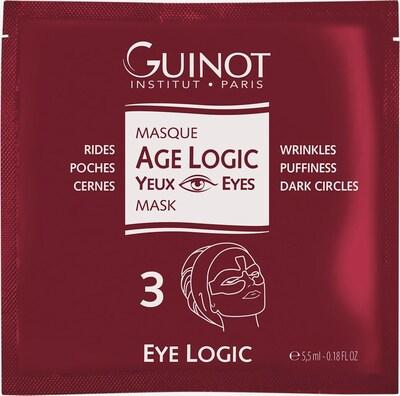 Guinot Augenmaske 'Age Logic' in weiß, Produktansicht