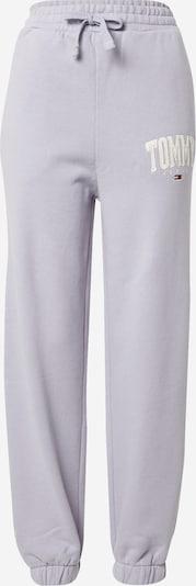 Tommy Jeans Hose 'ABO' in navy / lavendel / rot / weiß, Produktansicht
