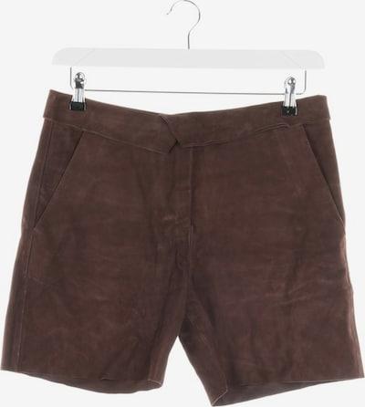 Marc O'Polo Pure Lederhose in S in dunkelbraun, Produktansicht
