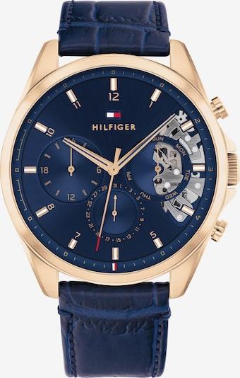 TOMMY HILFIGER Uhr in blau / marine / gold / weiß, Produktansicht