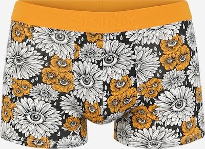 Skiny Boksarice | rumena / črna / bela barva, Prikaz izdelka