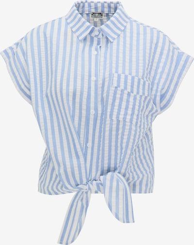DreiMaster Maritim Bluse in blau / weiß, Produktansicht