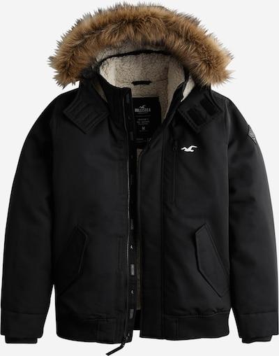 HOLLISTER Veste d'hiver en noir, Vue avec produit