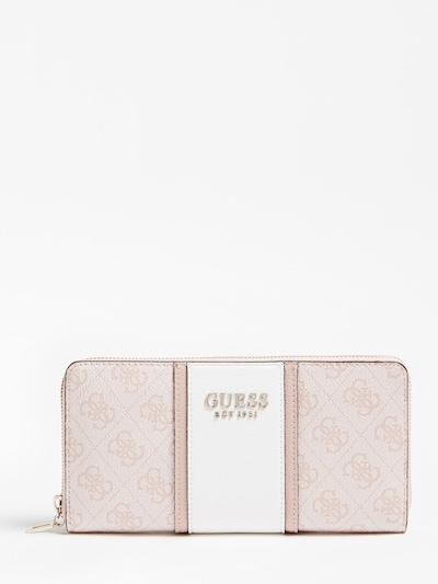 GUESS Portemonnaie in pink, Produktansicht