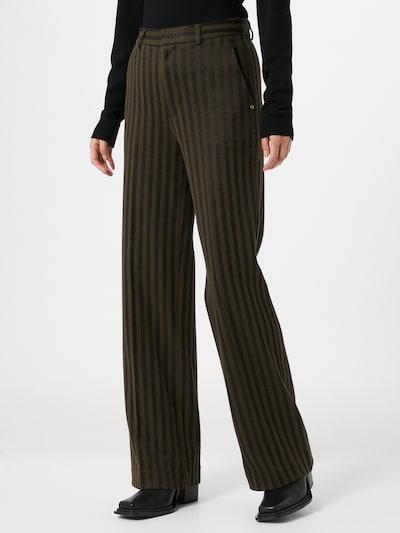 SCOTCH & SODA Trousers 'Edie' in olive / black, View model
