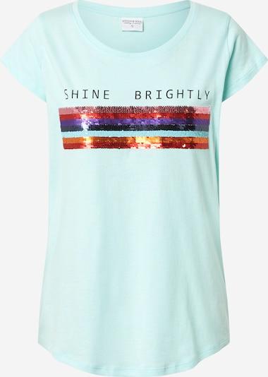 Stitch and Soul T-Shirt in mint / mischfarben, Produktansicht