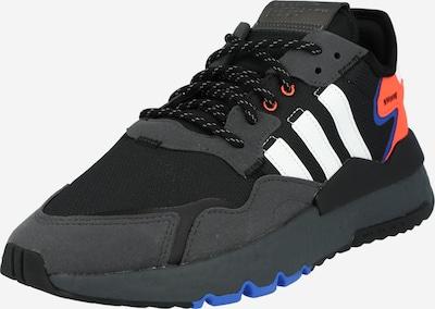 Sneaker low 'Nite Jogger' ADIDAS ORIGINALS pe albastru / corai / negru / alb, Vizualizare produs