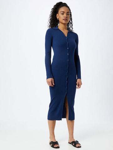 PATRIZIA PEPE Gebreide jurk in Blauw