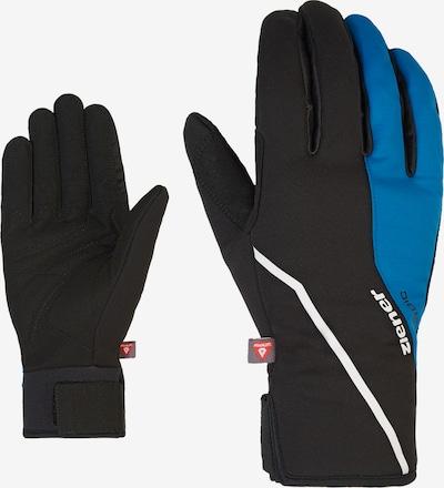 ZIENER Full Finger Gloves 'ULTIMO PR' in Blue / Black, Item view