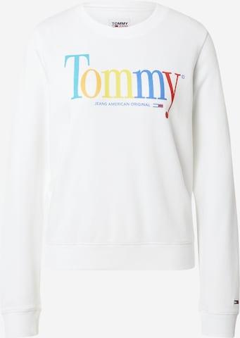 Tommy Jeans Sweatshirt in White