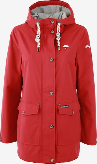 Schmuddelwedda Übergangsjacke in rot, Produktansicht