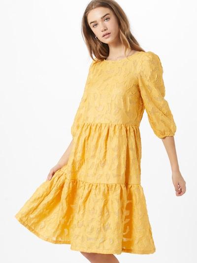 VILA Kleid in goldgelb, Modelansicht