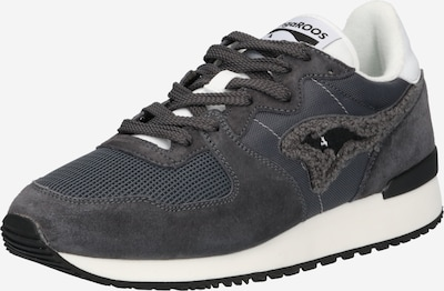 éjkék / bazaltszürke / fehér KangaROOS Rövid szárú edzőcipők 'Aussie Prep 2.0', Termék nézet