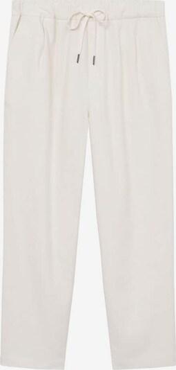 fehér MANGO Élére vasalt nadrágok 'spring', Termék nézet
