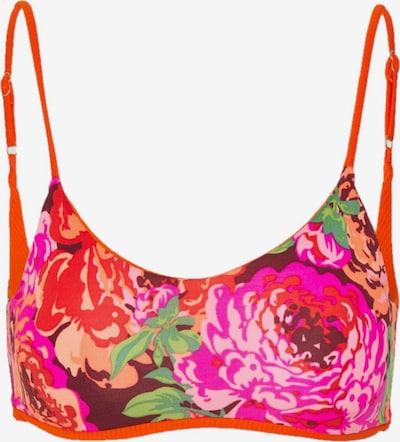Maaji Bikinitop ' Ginger ' in de kleur Sinaasappel / Pink / Bordeaux, Productweergave