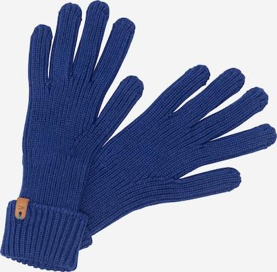 CAMEL ACTIVE Strickhandschuhe aus Baumwolle in blau, Produktansicht