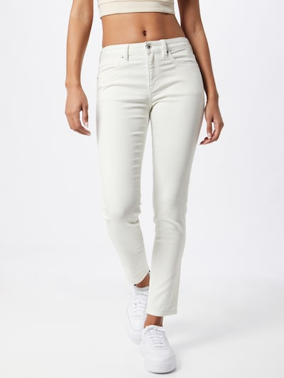 EDC BY ESPRIT Jeans in de kleur White denim, Modelweergave
