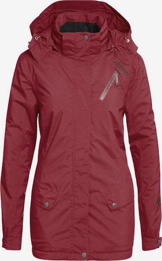 Maier Sports Jacke in blutrot, Produktansicht