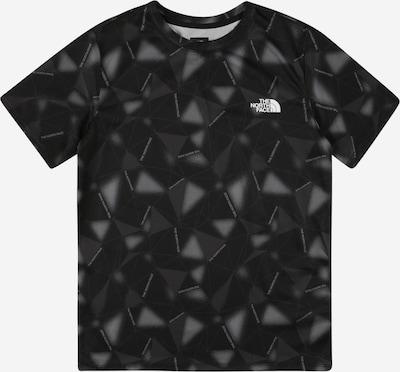 THE NORTH FACE Funktionsshirt in grau / schwarz, Produktansicht