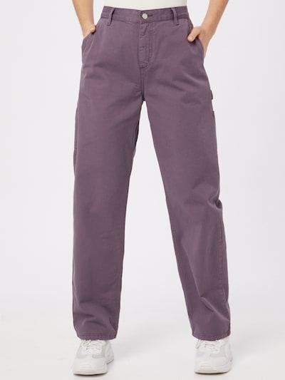 Carhartt WIP Kalhoty 'Pierce' - tmavě fialová, Model/ka