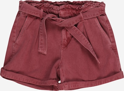 NAME IT Shorts 'BECKY TWIIZZA' in pastellrot, Produktansicht