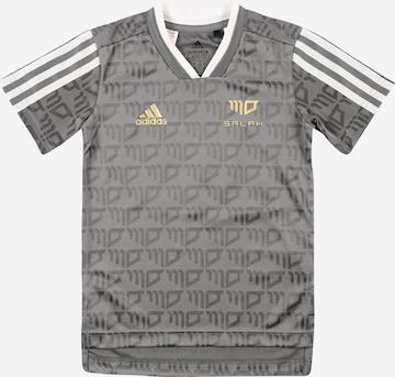 T-Shirt fonctionnel 'SALAH' ADIDAS PERFORMANCE en gris