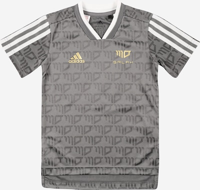 Sportiniai marškinėliai 'SALAH' iš ADIDAS PERFORMANCE, spalva – Auksas / antracito spalva / balta, Prekių apžvalga