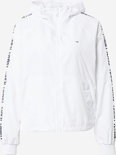 Tommy Jeans Jacke in schwarz / weiß, Produktansicht