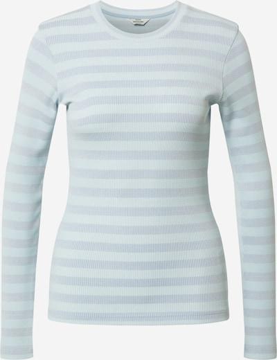 MADS NORGAARD COPENHAGEN Shirt in de kleur Smoky blue / Azuur, Productweergave