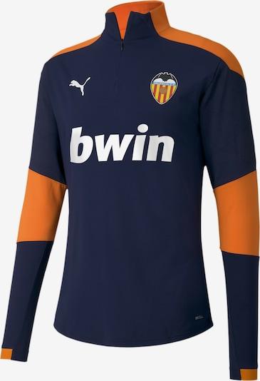 PUMA Functioneel shirt 'Valencia CF' in de kleur Donkerblauw / Sinaasappel, Productweergave