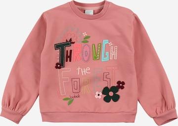 Sweat-shirt Boboli en rose