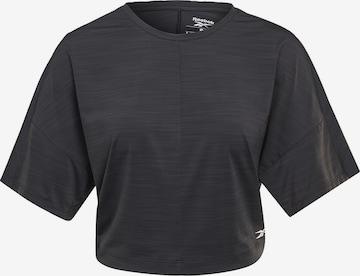 Reebok SportTehnička sportska majica - crna boja