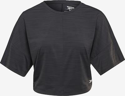Reebok Sport T-Shirt in schwarz / weiß, Produktansicht