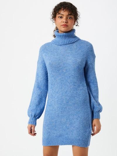 Tally Weijl Плетена рокля в синьо меланж, Преглед на модела