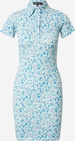 Motel Košilové šaty 'SAJEEVE' - světlemodrá / fialová, Produkt