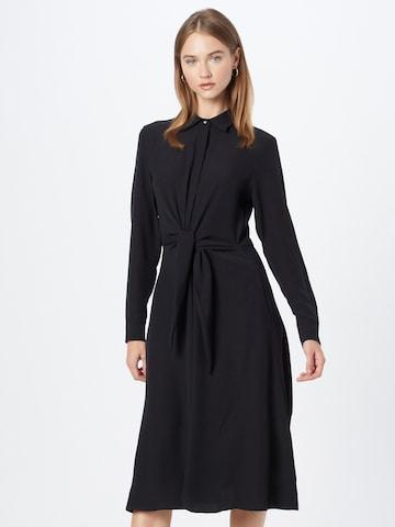 Rochie tip bluză de la Lauren Ralph Lauren pe negru