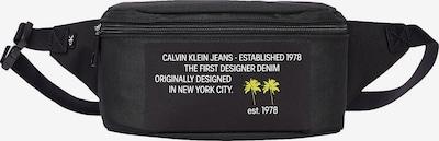 Calvin Klein Jeans Heuptas in de kleur Geel / Zwart / Wit, Productweergave