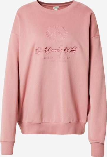 River Island Sweatshirt 'COUNTRY CLUB' in Pink, Item view