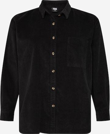 Urban Classics Curvy Blouse in Black