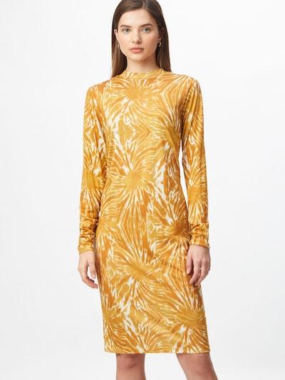 SCOTCH & SODA Kleid in gelb / weiß, Modelansicht
