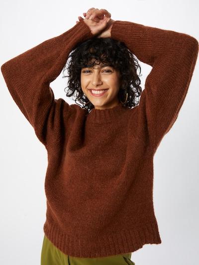 Gina Tricot Pullover 'Taylor' i brun, Modelvisning