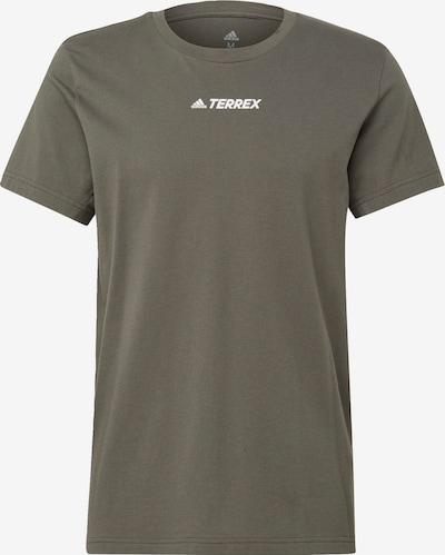 ADIDAS PERFORMANCE Functioneel shirt in de kleur Groen: Vooraanzicht