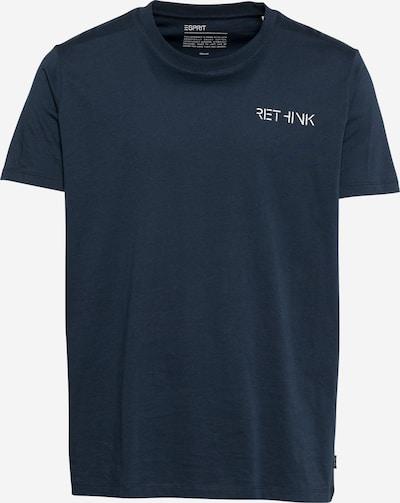 ESPRIT T-Krekls, krāsa - tumši zils / balts, Preces skats