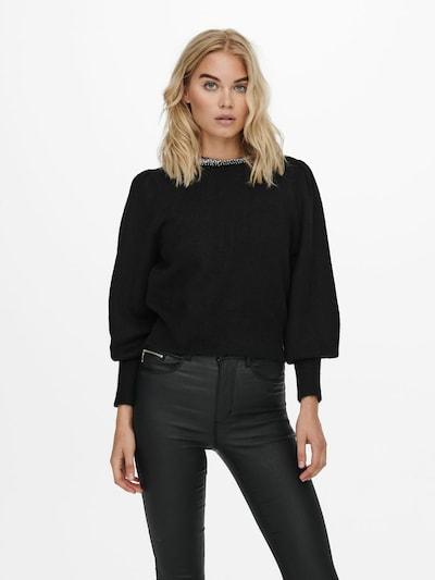 ONLY Jersey 'Alsia' en negro, Vista del modelo