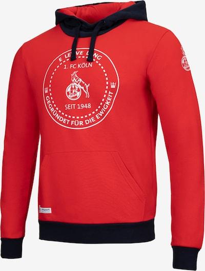 UHLSPORT Sweatshirt in dunkelblau / rot, Produktansicht