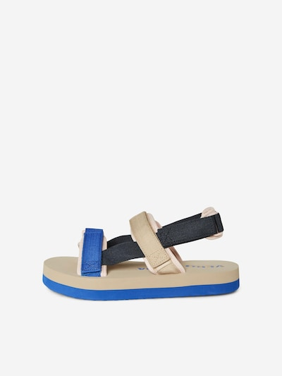 VERO MODA Sandale 'Lia' in beige / nachtblau / royalblau, Produktansicht