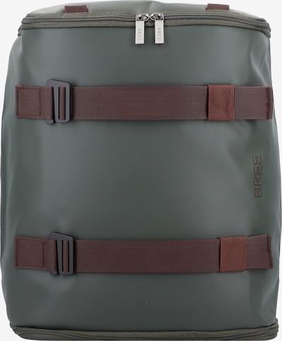 BREE Rucksack 'Punch 733' in braun / grün, Produktansicht